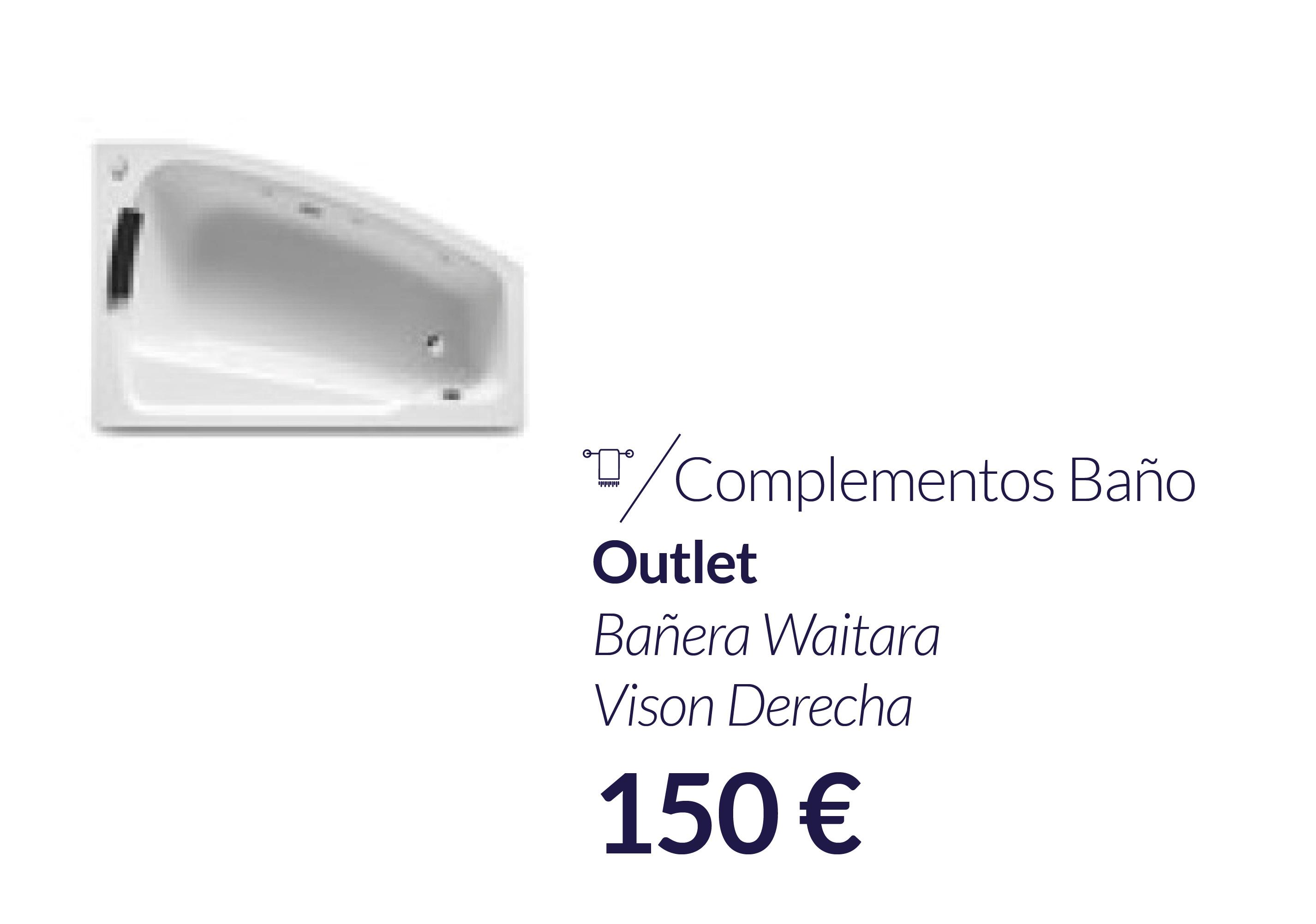 Outlet-Outlet en merida-materiales-construccion-bañera-waitara